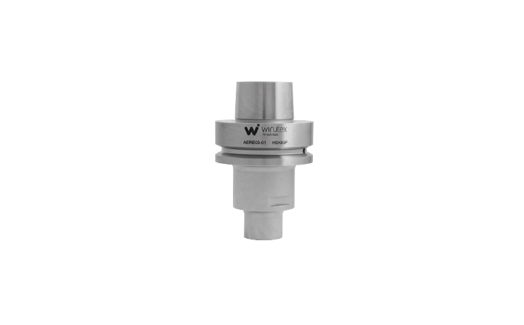 HSK63F chuck for router bits with HSK20E cone